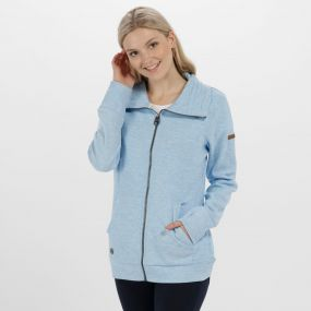 Regatta Elayna Full Zip Marl Fleece Hydrangea
