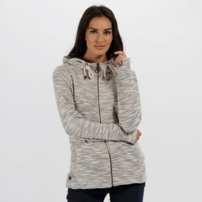 Regatta Orlenda Full Zip Hoody Light Vanilla