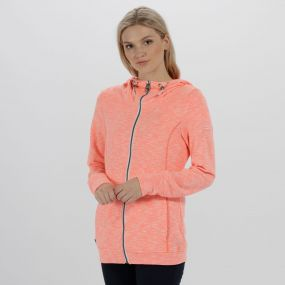 Regatta Ramosa Mid Weight Full Zip Fleece Fiery Coral
