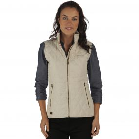 Regatta Cosmia Quilted Gilet Light Vanilla