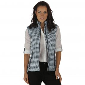 Regatta Cosmia Quilted Gilet Light Marine
