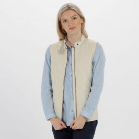 Regatta Camryn Quilted Gilet Light Vanilla
