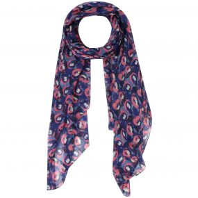 Regatta Sancia Printed Cotton Scarf Scarf Navy
