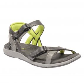 Regatta Women's Santa Cruz Sandals Granite Lime Fizz