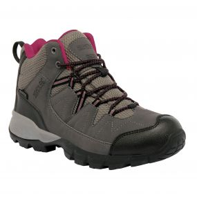 Regatta Women's Holcombe Mid Walking Boots Steel Vivacious