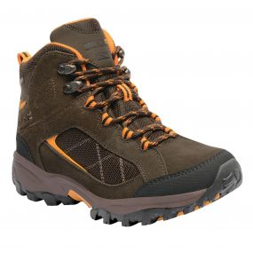 Regatta Lady Clydebank Hiking Boot Brown Zinnia