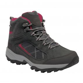 Regatta Women's Clydebank Mid Hiking Boots Briar Dark Cerise