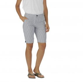 Regatta Sophillia Shorts Ticking Stripe