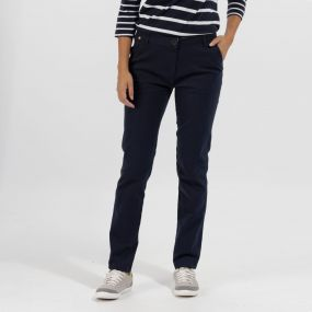 Regatta Querina Coolweave Chino Navy