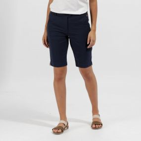 Regatta Sophilla II Coolweave Cotton Shorts Navy