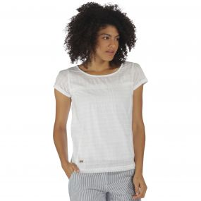 Regatta Feronia T-Shirt White Dobby