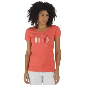 Regatta Filandra T-Shirt Deep Sea Coral