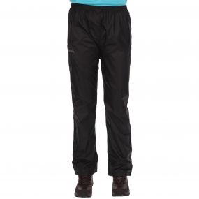 Regatta Womens Pack It Overtrousers Black