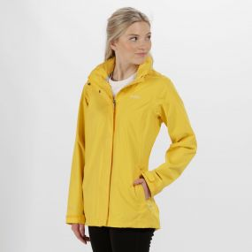 Regatta Daysha Waterproof Shell Jacket Lifeguard Yellow