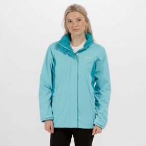 Regatta Daysha Waterproof Shell Jacket Horizon Aqua