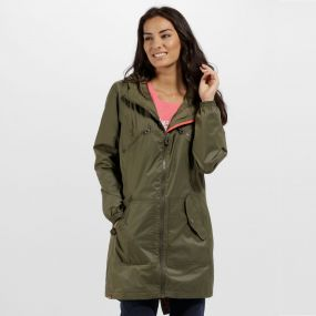 Regatta Adeltruda Waterproof Festival Jacket Ivy Green
