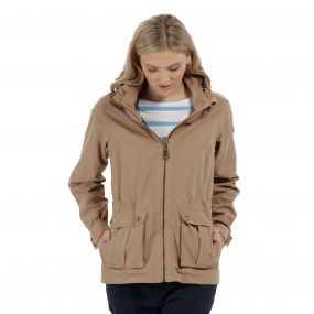 Regatta Nardia II Lightweight Waterproof Jacket Toffee