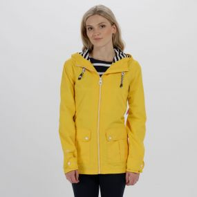 Regatta Bayeur II Lightweight Waterproof Hooded Jacket Lifeguard Yellow