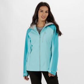 Regatta Women's Birchdale Waterproof Shell Jacket Horizon Aqua