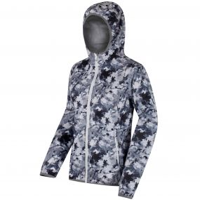 Regatta Leera II Waterproof Shell Jacket Mono Floral Print