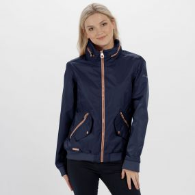 Regatta Kadisha Lightweight Waterproof Festival Jacket Navy