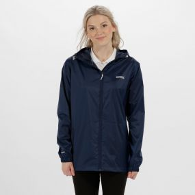 Regatta Women's Pack It Jacket III Waterpoof Packaway Midnight
