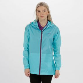 Regatta Women's Pack It Jacket III Waterpoof Packaway Horizon