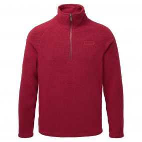 Craghoppers Sifton Half Zip Maple Red