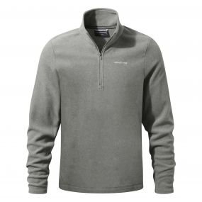 Craghoppers Corey III Half Zip Quarry Grey Marl