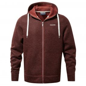 Craghoppers Mason Hooded Jacket Carmine Red