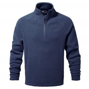 Craghoppers Barston Half Zip Night Blue