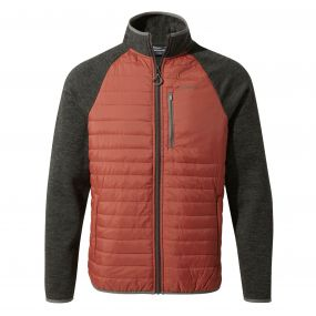 Craghoppers Monto Hybrid Jacket Red Earth