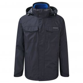 Craghoppers Wheeler 3 in 1 Jacket Dark Navy China