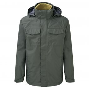Craghoppers Wheeler 3 in 1 Jacket Khaki Light Olive