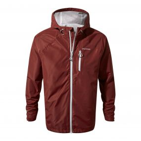 Craghoppers Crawney Jacket Red Earth