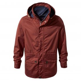 Craghoppers Ingham Jacket Red Earth