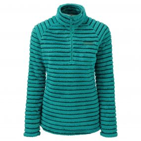 Craghoppers Appleby Half Zip Bright Turquoise Combo