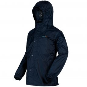 Regatta Kids Pack-It Jacket II Midnight