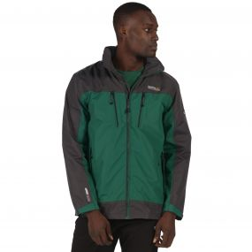 Regatta Calderdale II Jacket Hunter Green Grey