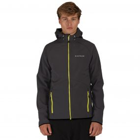 Dare2b Invoke Softshell Hoody Ebony Grey