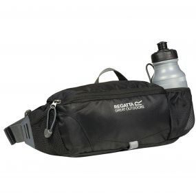 Regatta Quito Bottle Hip Pack Black