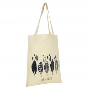 Regatta Canvas Tote Bag Beige Navy