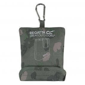 Regatta Packable Tote Bag Fauna Green