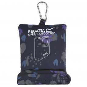 Regatta Packable Tote Bag Fauna Navy