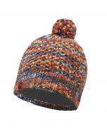 Buffera Lifestyle Knitted & Polar Fleece Hat Margo Orange