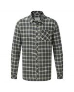 Craghoppers Brigden Long Sleeved Check Shirt Dark Grey