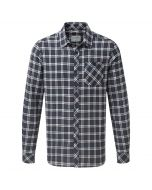 Craghoppers Brigden Long Sleeved Check Shirt Storm Navy