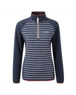 Craghoppers Tille Half Zip Soft Navy Stripe Soft Navy