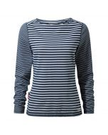 Craghoppers NosiLife Erin Long Sleeved Top Night Blue Combo