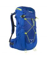 Blackfell II 35 Litre Backpack with Hydration Storage Pocket Oxford Blue Lime Zest